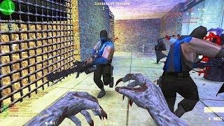 Counter-Strike: Zombie Escape Mod - ze_Military_v2 on Brotherhood