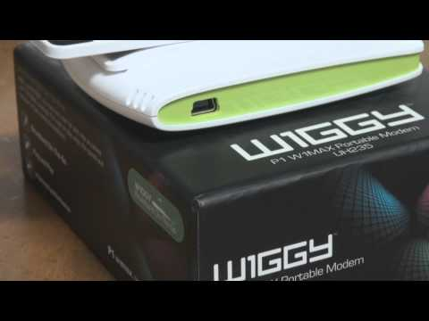 P1 4G Super WiGGY UH235 Portable Modem - 29 Nov 10