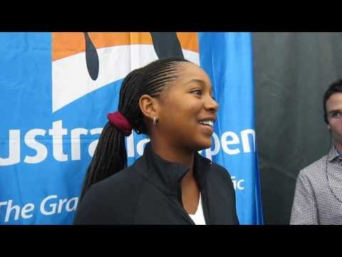 Vicky Duval: 2013 USTA Australian Open Wild Card Playoffs (RAW)