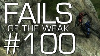 Fails of the Weak: Ep. 100 - Funny Halo: Reach Bloopers and Screw Ups! | Rooster Teeth