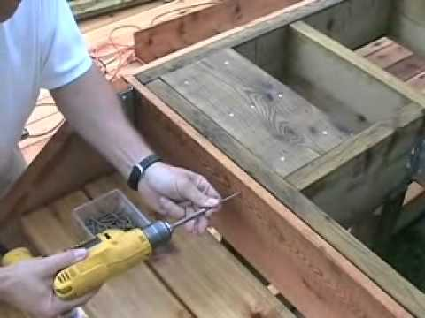Small Backyard Deck Part1 Blocking Joists Youtube