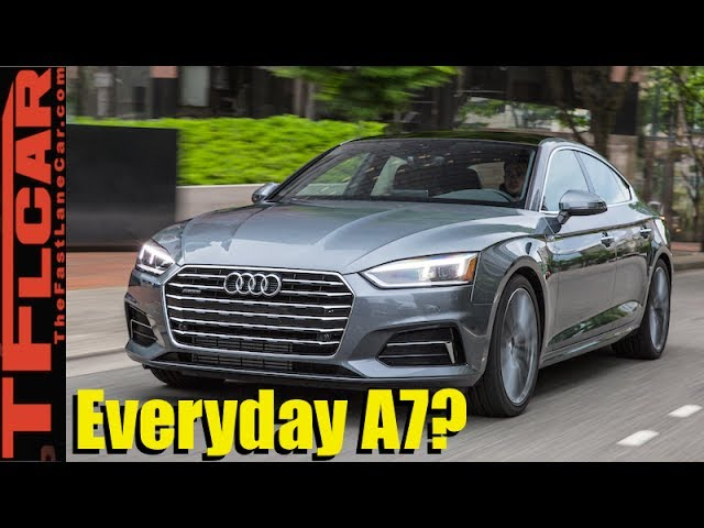 2018 Audi A5 Sportback Review: A Fast, Sexy and Fun 5 Door ...