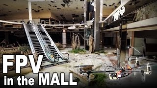 A flight inside of an abandoned mall  (Rolling acres)