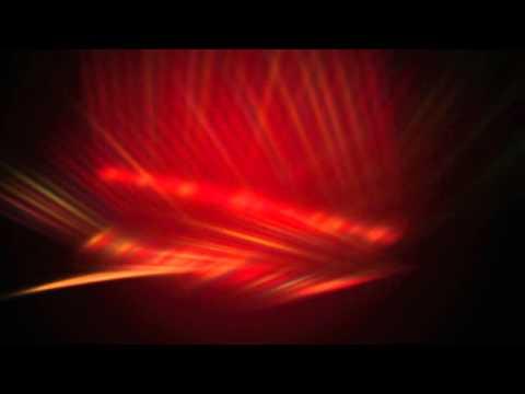 Футаж Яркие красные блики Stock video footage