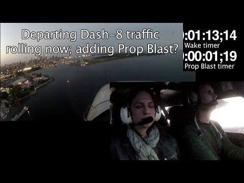 Wake Turbulence encounter - POV - Flying