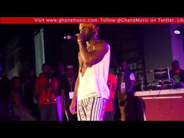 Dex Kwasi - Performance @ EL's B. A. R. concert | GhanaMusic.com Video