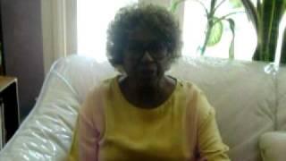 REV. CALVIN CARSON - INTERVIEWS LYNN HAMILTON (Donna form SANFORD and SON)