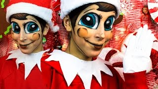 ELF on the Shelf Transformation Makeup Tutorial