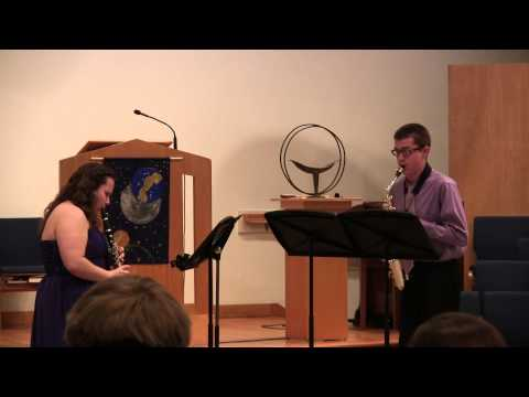 Wanamaker Duo for clarinet and saxophone