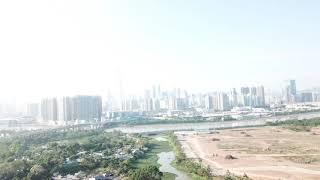 A border where yesteryear meets modern megapolis.  China and Hong Kong