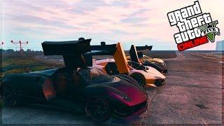 GTA 5 UPDATE - OSIRIS SUPER CAR CHALLENGE! Osiris VS ALL! FASTEST SUPER CAR!? (GTA 5 DLC)