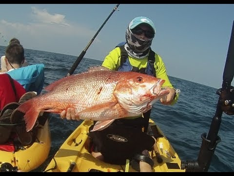 Kayak Fishing - Red Snapper - Cobia - Destin Florida