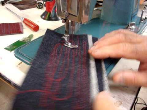 STITCHMASTER Deluxe Sewing Machine In Action  YouTube