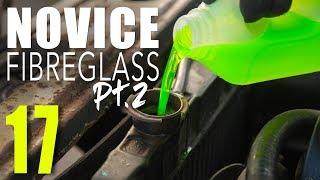 Easy fibreglass repair Pt.2, Pinto Coolant flush & rad remove // SOUP Classic Motoring 17