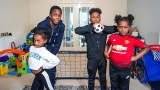 Brothers vs Sisters | HOUSE FOOTBALL CHALLENGE!