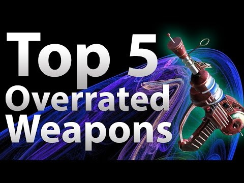 TOP 5 Overrated Guns in Call of Duty Zombies Black Ops 2 Zombies BO2 Black Ops WaW