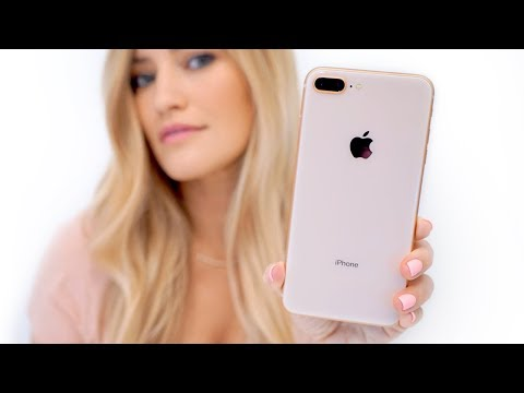 Gold Iphone 8 Plus Unboxing