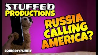 FRIENDS IN DUMB PLACES - Stalin Calls Donald Trump - Funny Plushie Videos