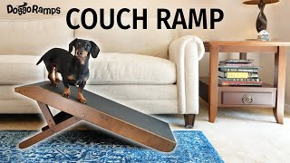 Introducing the DoggoRamps COUCH Ramp for Dogs!