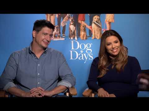 "Ken Marino And Eva Longoria Talk About ""Dog Days"""