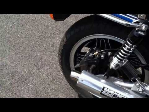 Honda CB1100F and CB900F Vance and Hines Supersport Comparo