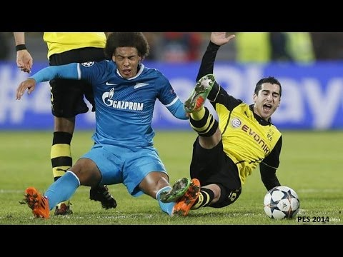 Borussia Dortmund - Zenit Sankt Petersburg 1-2 | ChampionsLeague 1/8 Finale Rückspiel | pes14