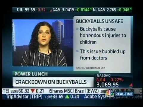Buckyballs  CEO Craig Zucker on CNBC with CFA s Rachel Weintraub