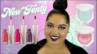 New Fenty Beauty Stunna Lip Paints + Killawatt Highlighters