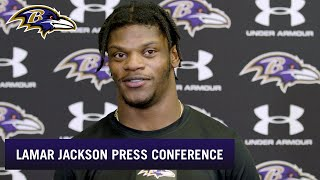 Lamar Jackson Says He'll Play Thursday Night | Baltimore Ravens