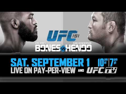 UFC 151: August 23 Conference Call Audio