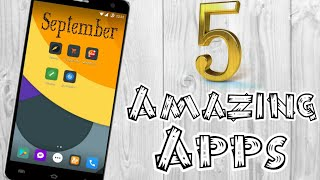 5 சிறந்த Apps in September 2017 | 5 Best Apps for Android in SEPTEMBER 2017(Tamil)