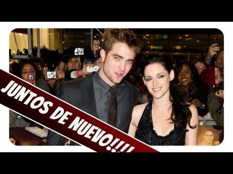 ¡Rob Pattinson y Kristen Stewart SE REUNEN!!!!!!!!!
