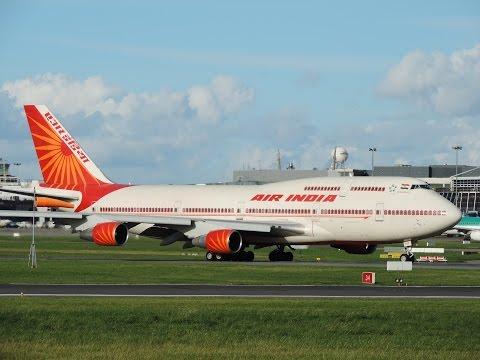 Air India Boeing 747 TakeOff Dublin Airport