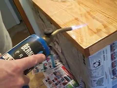 How to Apply Epoxy Finish, getting the air bubbles out!