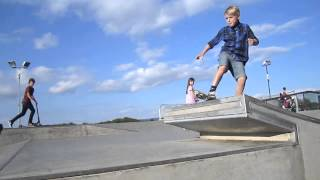 Skateboarder Schaeffer McLean - Chilled Afternoon Skate at Churchdown Skatepark