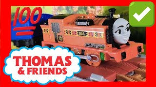 Thomas & Friends Trackmaster Trains Playtime! Nia at  Brave Bridge Collapse (05323)