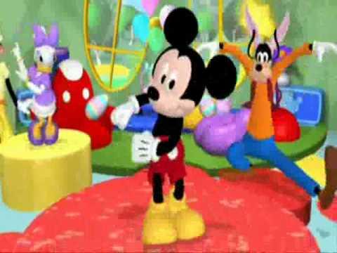 A casa di topolino la pasqua youtube for La fattoria di topolino