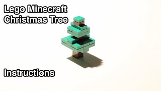 Lego Minecraft Christmas Tree (instructions)