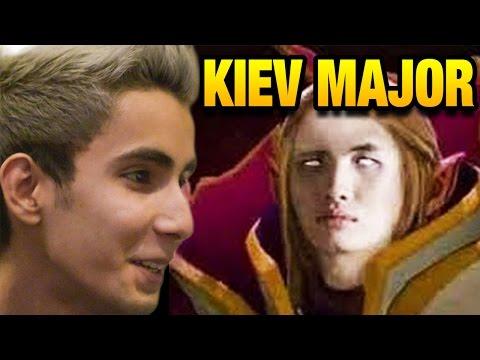 Sumail Too Strong - EG vs Faceless - Kiev Major Dota 2 7.05