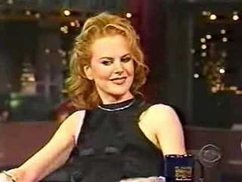 Nicole Kidman Letterman 08 02 01 Part 2