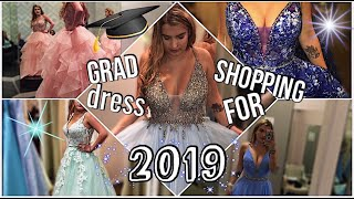 VLOG: Grad/Prom Dress Shopping for 2019!