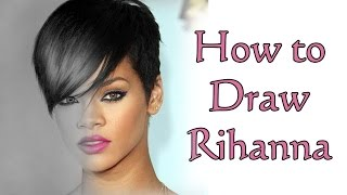 Rihanna Drawing - Speed Drawing Rihanna