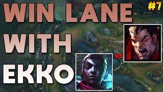 Maxske's Ekko | WIN LANE WITH EKKO! #7 ( EKKO VS D3 Darius )
