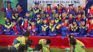 Bài nhảy :Tạm biệt búp bê ( phiên bản remix đặc biệt)- Trường MN Tương Lai Bình Dương
