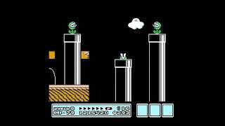 Super Mario Bros 3 World 8: Dark Land (all levels)