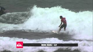 Michel Bourez R1 H10 - Quiksilver Pro Gold Coast