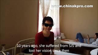 Stevens-Johnson Syndrome survivor sees the world again after ckpro implant