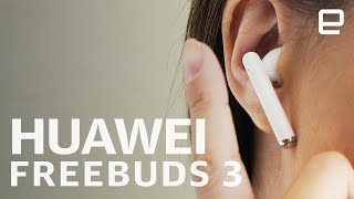 Huawei FreeBuds 3 Hands-On at IFA 2019