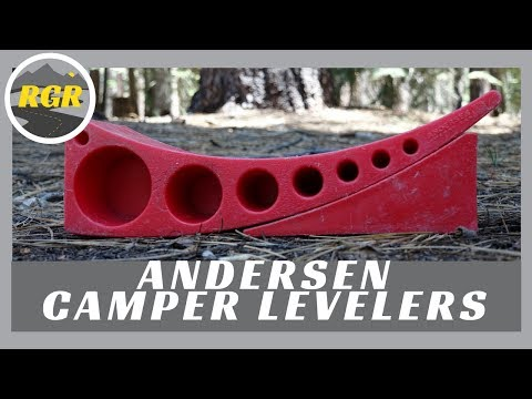 Camper Levelers by Andersen Manufacturing   Product Review   Fast easy side to side RV leveling