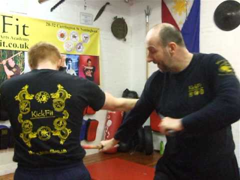 Kickfit Martial Arts Academy,Nottingham,UK. Eskrima-Kali-Arnis ,Filipino Martial Arts Image 1